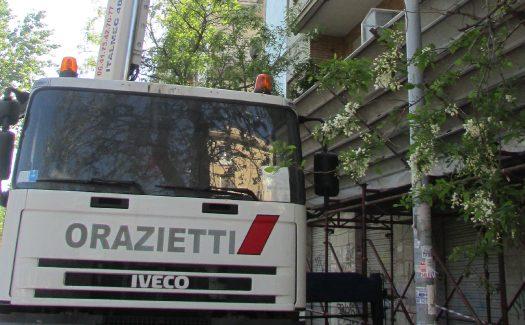 Orazietti - Lavori via Tito Labieno